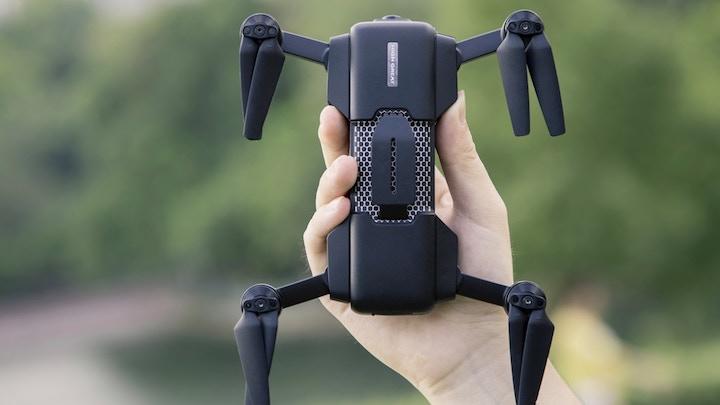 Ansicht der Oberseite der Mark Drone