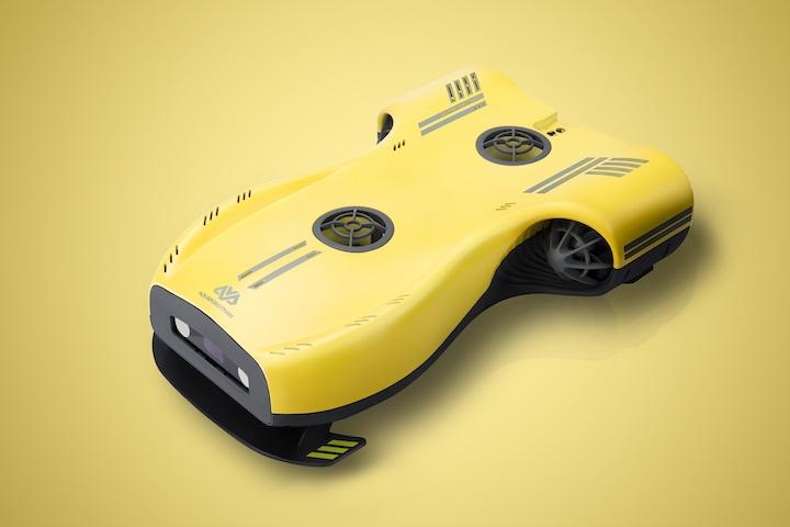 Nemo Drohne gelb