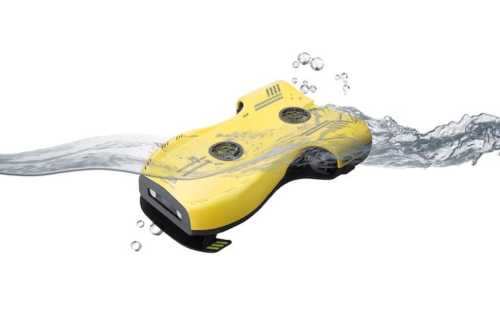 Nemo Drohne im Wasser