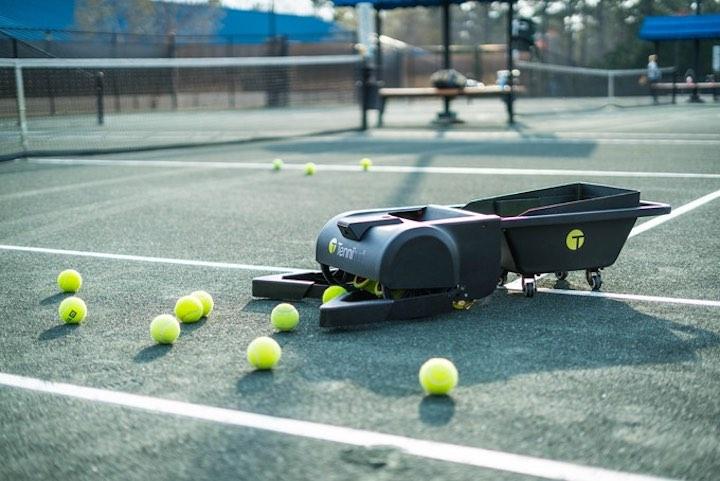 Tennibot Tennisbälle