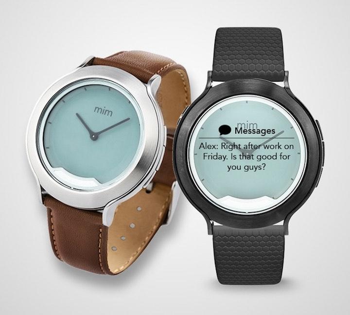 mim X Smartwatch braun und schwarz
