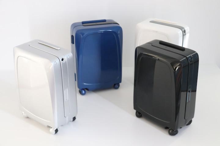Ovis Koffer in vier Farben