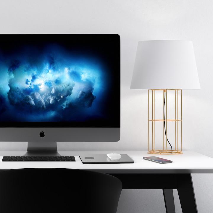 PowerDock neben iMac