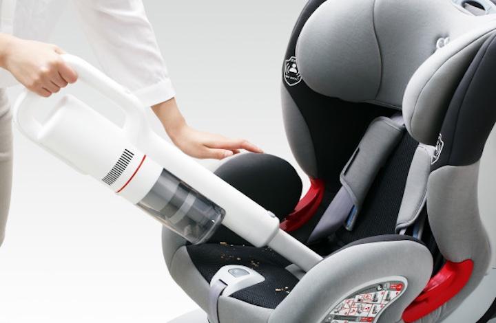 Roidme F8 und Kindersitz
