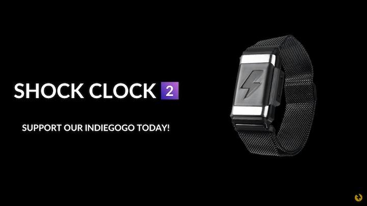 Shock Clock 2 auf Indiegogo