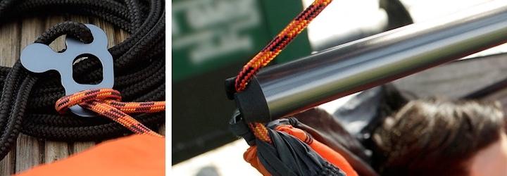 SkyFloat Metallstange und Seil