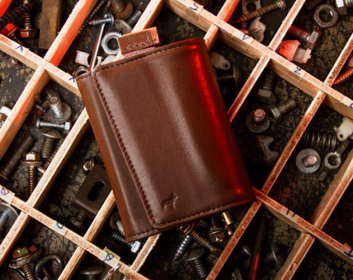 Speed Wallet Mini in Mocha
