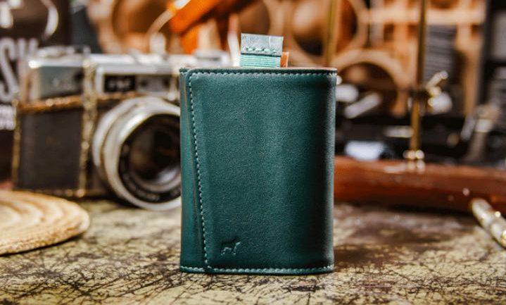 Speed Wallet Mini in grün e1529935979869