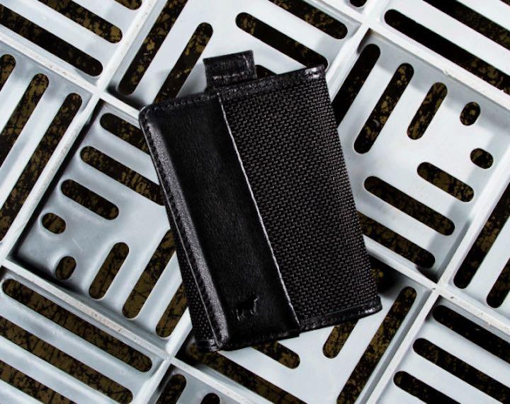 Speed Wallet Mini in schwarz Nylon