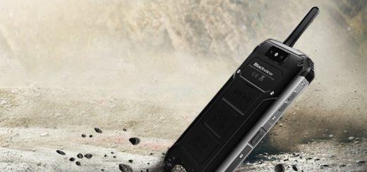 Blackview BV9500 Pro Smartphone im Dreck 520x245