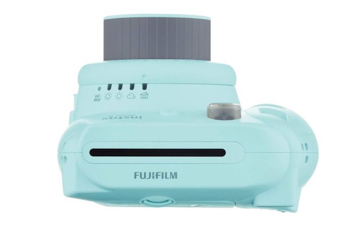 Fujifilm Instax Mini Oberseite türkis