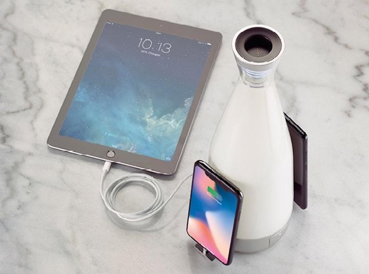 Gloo Lampe mit iPad und iPhone