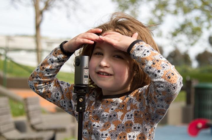 Kind mit Wunder360 Kamera