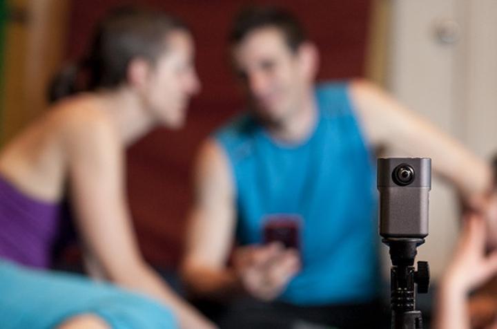 Mann und Frau mit Wunder360 Kamera