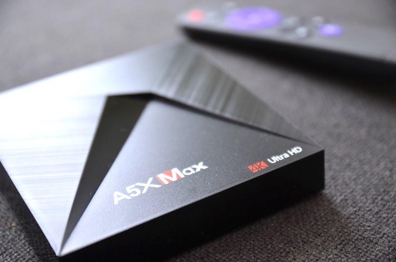 a5x tv box oberfläche