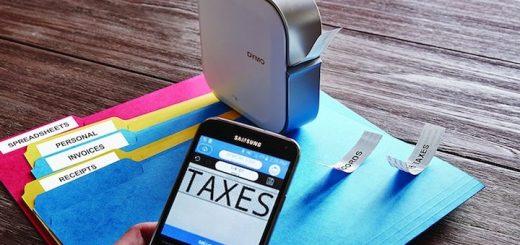 mobiler etikettendrucker mit smartphone 520x245