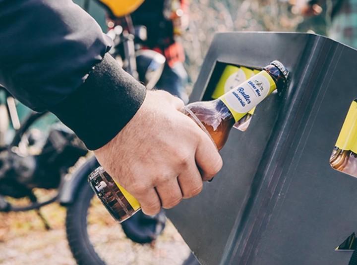 Beer Box Flaschenöffner