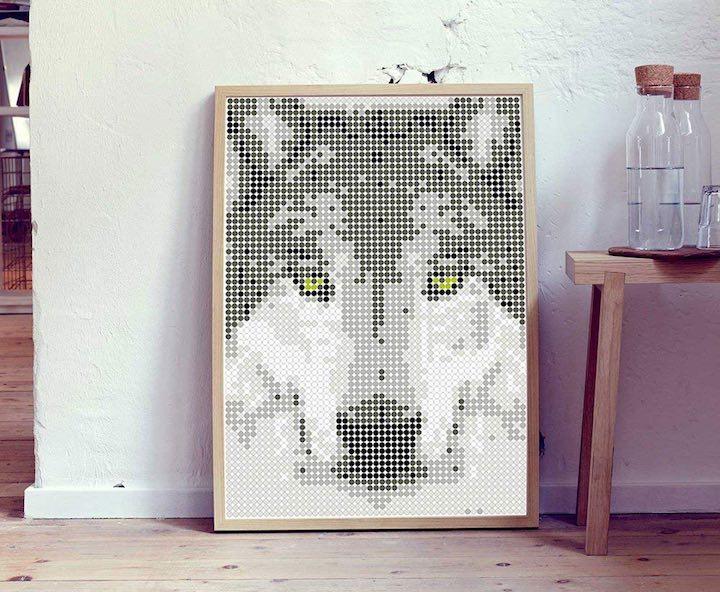 Dot on Art Wolf 1