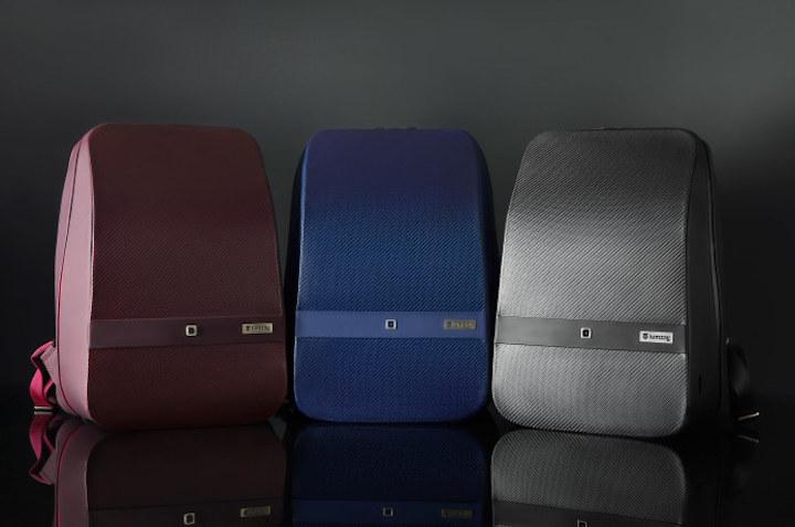 Lumzag in drei verschiedenen Farben