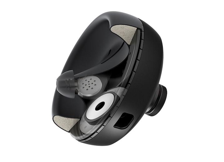 Nuraphone Kopfhörer Querschnitt Technologie