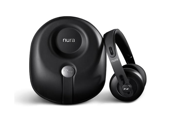 Nuraphone Kopfhörer mit Tasche