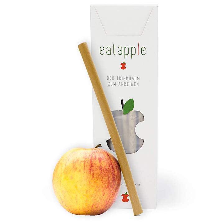 eatapple strohhalm essbar