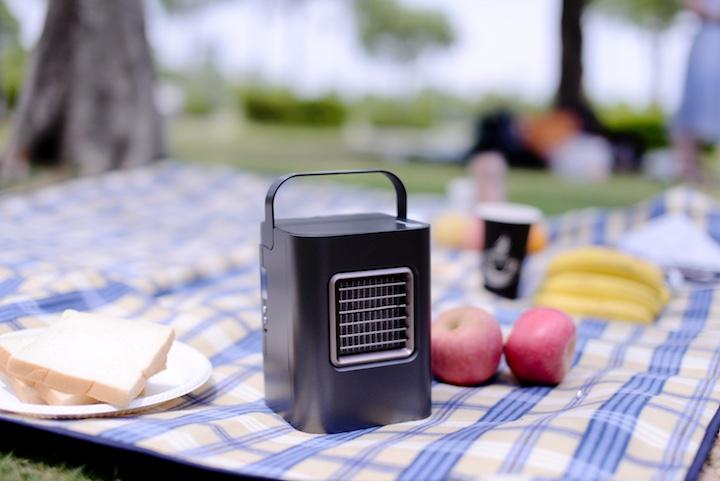 CoolSolo auf Picknickdecke