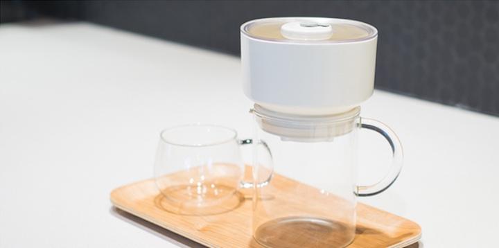 FrankOne in Weiß mit Tasse