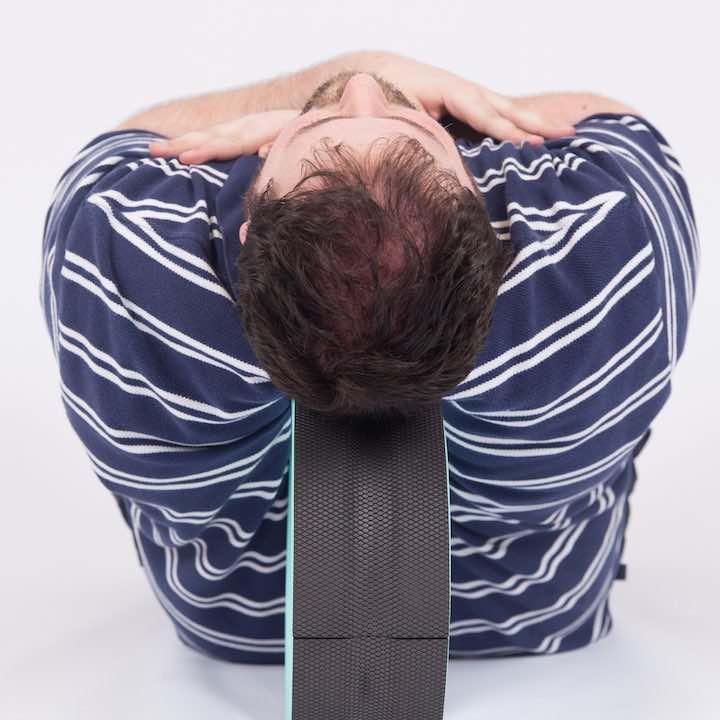 Rückenmassage mit Plexus Wheel Plus