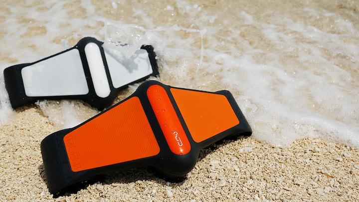 Trident in Weiß und Orange