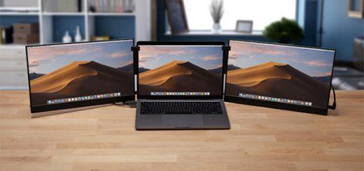MacBook mit zwei Vinpok Split 520x245