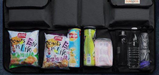 SURDOCA Kofferraum Organizer in einem Kofferraum