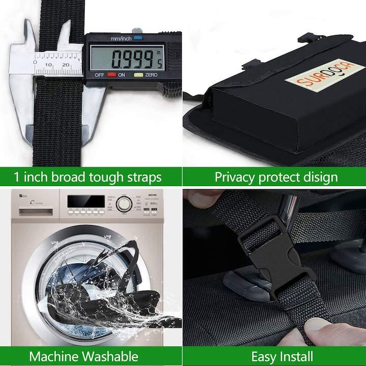 Verschiedene Funktionen des SURDOCA Kofferraum Organizers