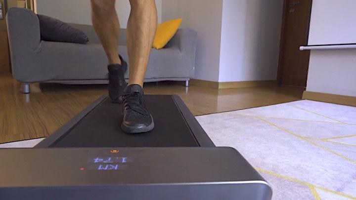 WalkingPad von Vorne während Benutzung