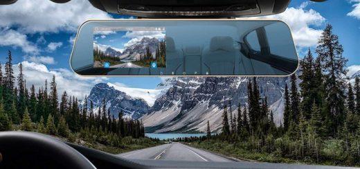 DuDuBell Rückfahrkamera Berge Autoinnenraum 520x245