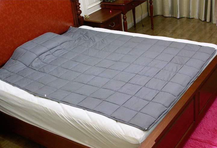 Esee Home Gewichtsdecke auf Bett