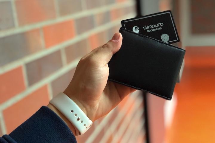 Hand Slimpuro Tracker Slim Wallet