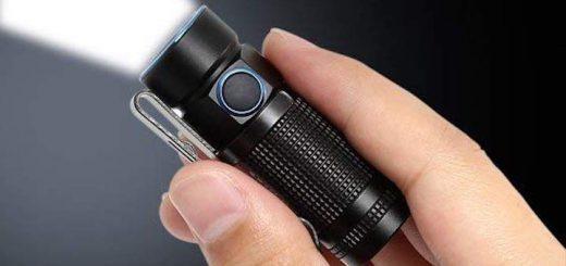Olight S1 Baton so groß wie ein Finger 520x245