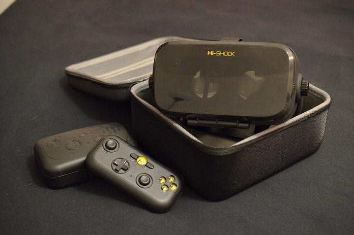 VR Shark X4 mit Transportbox und Controller
