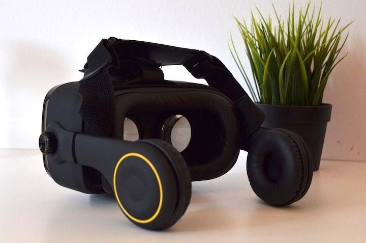 VR Shark X4 schr%C3%A4g von hinten