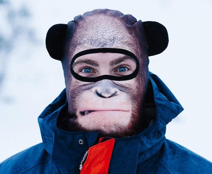 Beardo Maske Affe