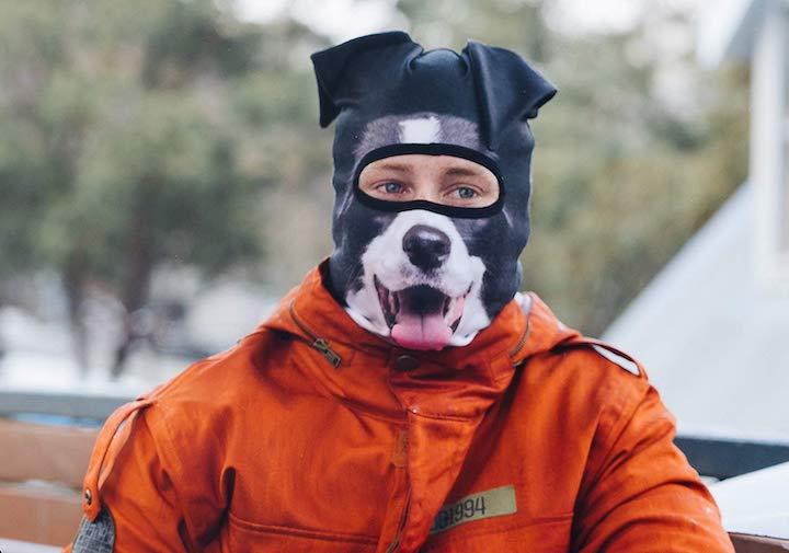 Beardo Maske Hund