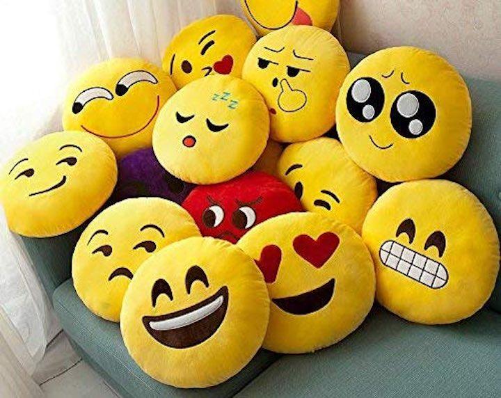 Emoji Kissen