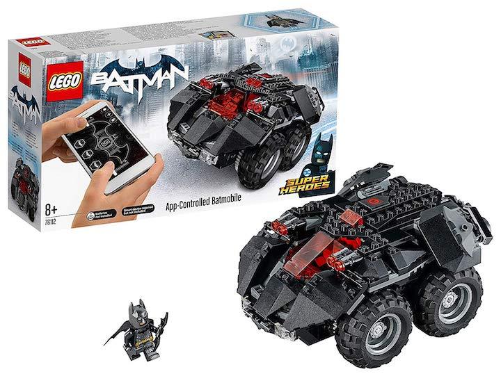 Lego Batmobil Verpackungsinhalt