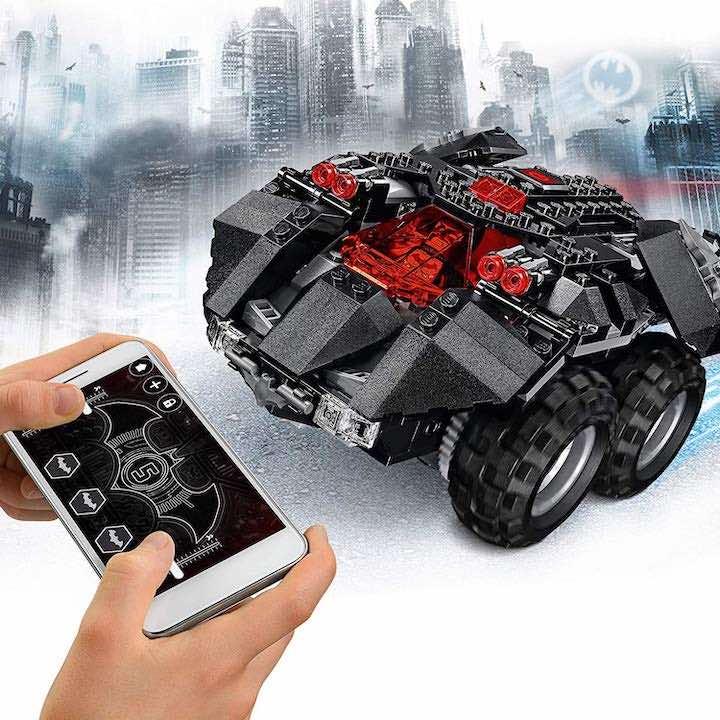 Lego Batmobil mit App Steuerung