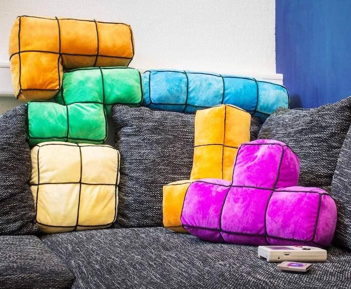 Tetris Kissen