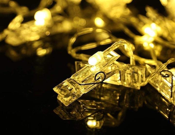 Wäscheklammer LED