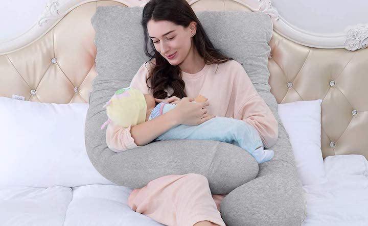 schwangerschaftskissen seitenschläferkissen