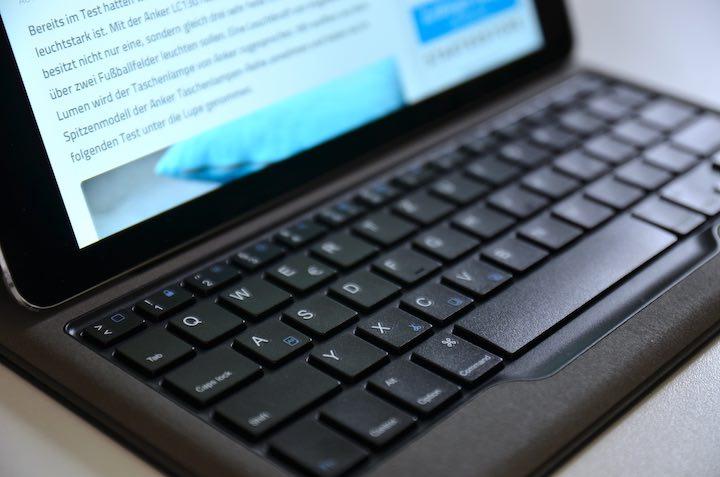 Anker iPad Tastatur Hülle