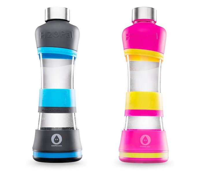 H2OPal Flasche pink blau